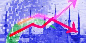 Более 57% турок считают, что экономический кризис вызван ошибочной политикой правительства