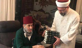 Глава Управления по дела религии Турции посетил теолога, утверждавшего, что «голосовать за Эрдогана – это фарз»