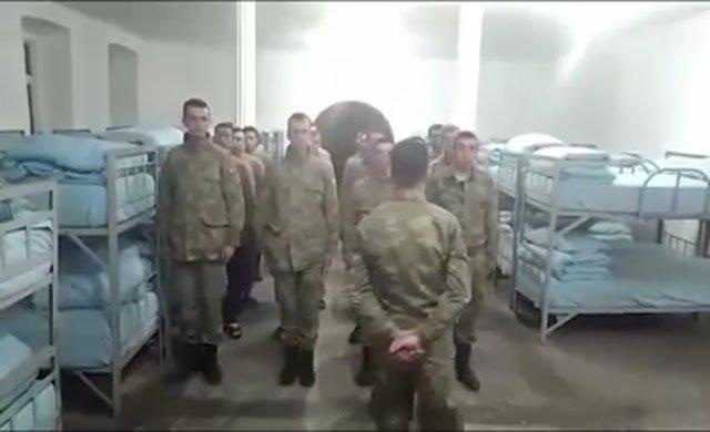 Скандал в армии: Солдаты передали привет кандидату от националистов