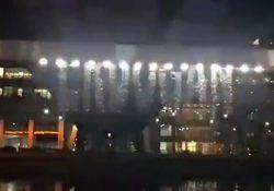 Гигантская световая голограмма «Эрдоган убивает ученых» появилась в Лондоне