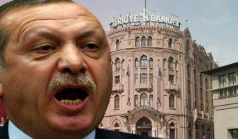 Эрдоган положил глаз на доли Işbank