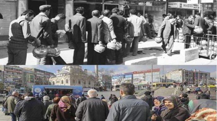 Очереди времен правления «одной партии» вернулись с ПСР