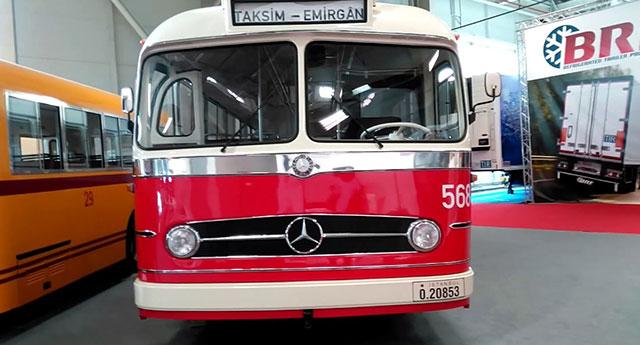 Эрдоган заявил, что первые автобусы Mercedes в Турции появились, когда он занимал пост мэра Стамбула