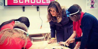Мелания Трамп посетила школу под управлением последователей движения Хизмет
