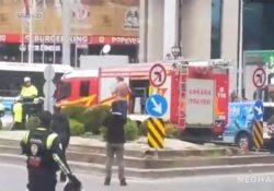 Мужчина грозился поджечь себя в центре Анкары из-за долгов