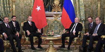 Путин и Эрдоган встретились в Москве