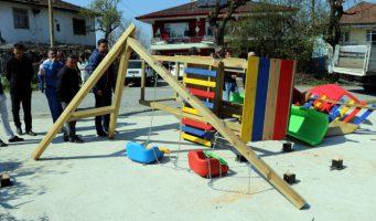 Староста, проигравший выборы, разгромил детский парк