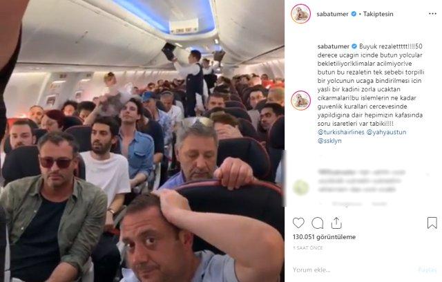 Скандал на борту самолета турецких авиалиний