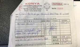 Чиновники из ПСР за три дня потратили на угощения 1,5 млн лир