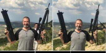 Сторонник ПСР сфотографировался в стиле террористов: Если прикажет министр Сойлу, убью