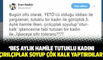 Турецкая правозащитница: Арестованную беременную девушку раздели и заставили многократно приседать