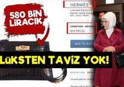 В президентском дворце нет кризиса: Эмине Эрдоган отправилась в Японию с сумочкой за 50 тысяч долларов