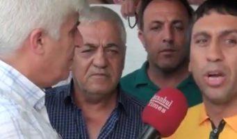 В двери дома курда, заявившего о поддержки Имамоглу, воткнули нож