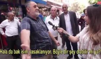 Житель Стамбула выразил резкое недовольство политикой Эрдогана: Этот человек не должен управлять страной