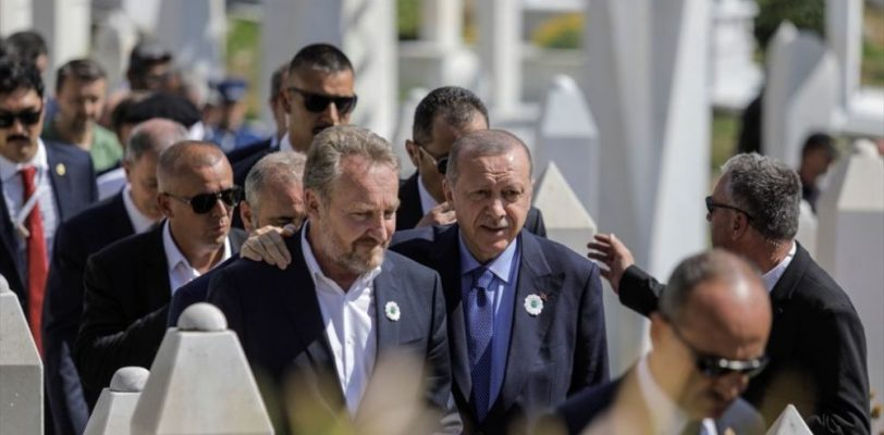 Охрана Эрдогана устроила драку с пограничниками в Сараеве
