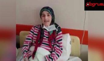 Жертва чрезвычайного правительственного декрета учительница Фатма, муж которой три года в тюрьме, потеряла 29 кг и 14-летнего сына