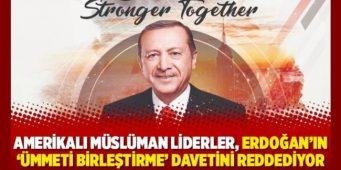 Лидеры американских мусульман отклонили приглашение Эрдогана
