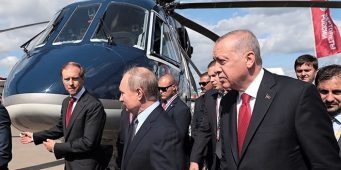 Путин Эрдогану: Купишь вертолет, подарю лимузин