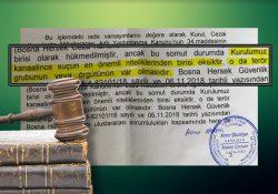 Босния и Герцеговина отклонила требование Турции о выдаче журналиста: Нет такой террористической организации как ФЕТО