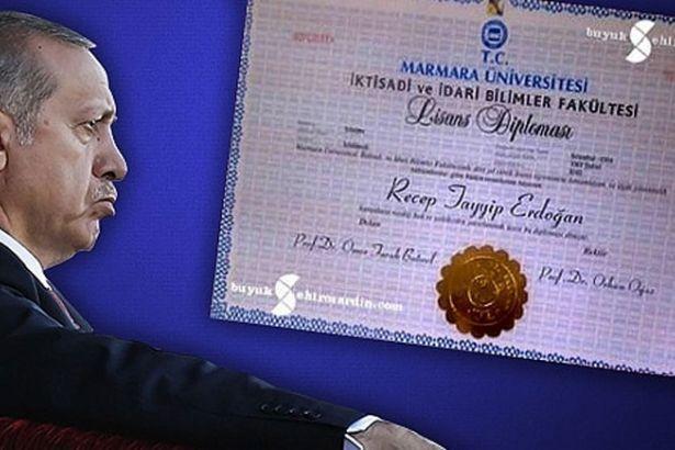 Суду предложили запросить дипломы Эрдогана об окончании лицея Эйюб и университета Мармары