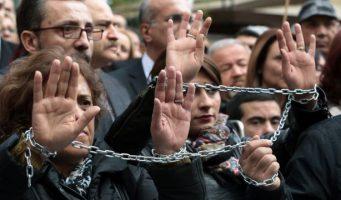 Турция в числе стран с наибольшим количеством заключенных журналистов