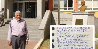 Мужчина, написавший письмо Эрдогану и пожертвовавший трактор и дом, повесился
