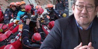 Раненную женщину целый час не вытаскивали из-под завалов до приезда Эрдогана