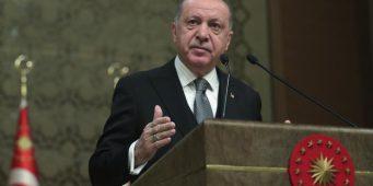 Эрдоган внес Сирию и Ливию в карту «Новой Турции»?