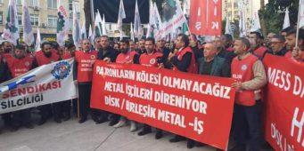 Работники металлургической промышленности Турции проведут массовую забастовку в феврале