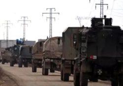 Конвой ВС Турции обстреляли в Алеппо