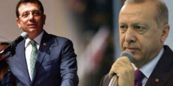 Граждане больше доверяют Имамоглу, чем Эрдогану