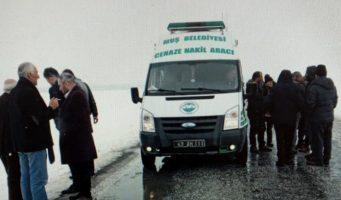 Гроб с телом известного курдского писателя не позволили везти в муниципальном автомобиле