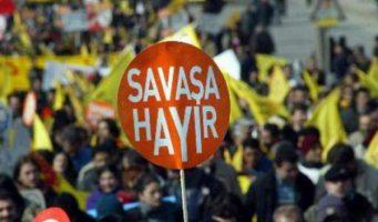 Мэрия Стамбула запретила призывы «Нет войне!»