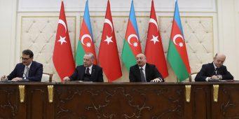 Баку и Анкара подписали более 10 документов о сотрудничестве
