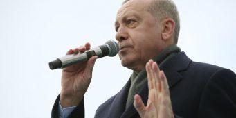 Опрос: Рейтинг одобрения Эрдогана упал в феврале