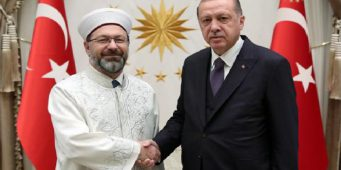Диянет Турции одобрил благотворительную кампанию Эрдогана