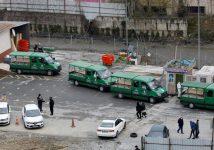 Информагентство Reuters показало «коронавирусный похоронный конвой» в Стамбуле