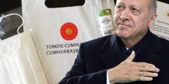 Немцы отказались брать турецкие маски: «Власти Турции скрывают под масками истинное лицо»