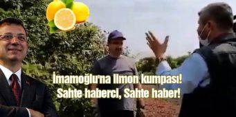 Лимонная провокация. Мэрия Стамбула подаст в суд