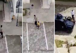 Полиция стреляла в детей, нарушивших карантин
