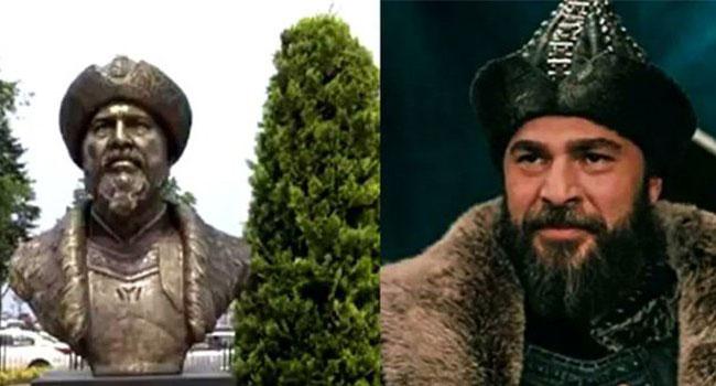 Чиновник ПСР установил бюст тюркского правителя Эртогрула с лицом актера
