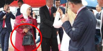 Тема о сумочке Эрдоган и сыне под запретом