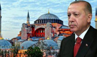 Прошлогоднее высказывание Эрдогана о статусе Айя-Софии: Как политический лидер, я не потерял своей позицию, чтобы быть втянутым в эти игры