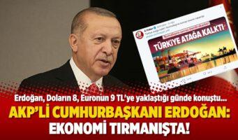 Турецкая лира обесценивается, однако Эрдоган заявляет, что страна успешно развивается