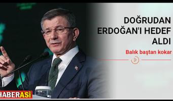 Давутоглу Эрдогану: Рыба гниет с головы