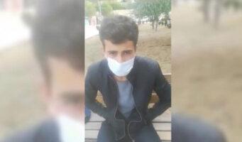 Молодой турок с положительным тестом на коронавирус ночует на улице