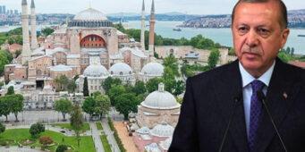 Администрация Эрдогана обжаловала решение о смене статуса Айя-Софии?
