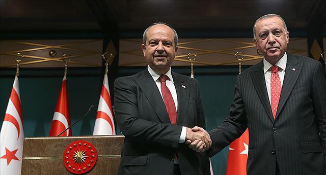 Во дворце Эрдогана отметили окончание ремонта трубопровода
