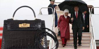 Бойкот на французские товары: Как быть с сумочкой Эмине Эрдоган?
