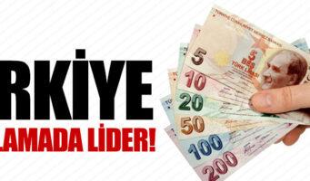 Турция бьет рекорд среди стран с быстрорастущим долгом